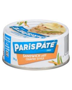 Paris Pate Sandwich Country Style 78G