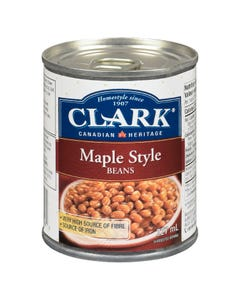 Clark Maple Style Beans 227ML