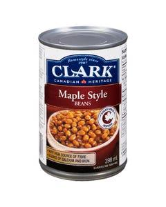 Clark Maple Style Beans 398ML