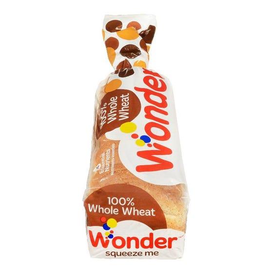 Wonder Plus Pain 100% Blé Entier570G