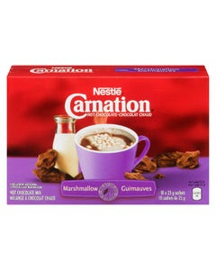 Carnation Hot Chocolate Mix with Marshmallows 10X25G