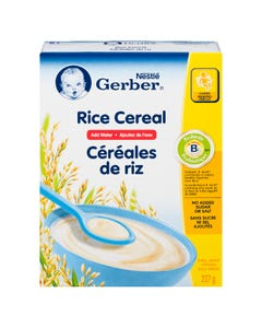 Nestle Gerber Rice Baby Cereal 227g