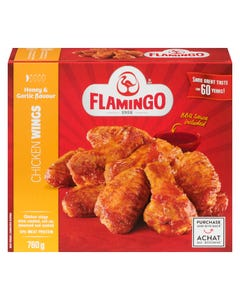 Flamingo Honey & Garlic Chicken Wings 760G
