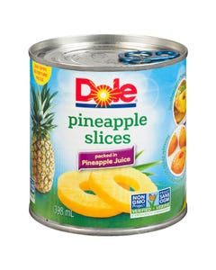 Dole Pineapple Sliced 398ml