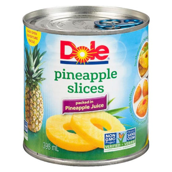 Dole Ananas en Tranches 398ML
