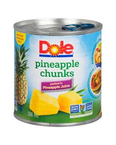 Dole Pineapple Chunks 398ml