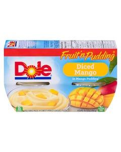 Dole Fruit 'n Pudding Diced Mango 4X123G