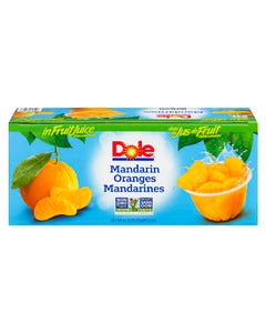 Dole Fruit Bowl Mandarin Oranges 20x107ml