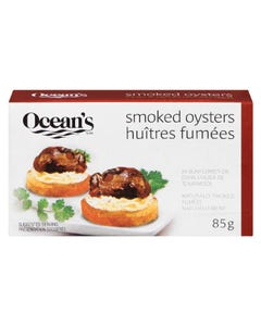 Ocean's Smoked Oysters 85g