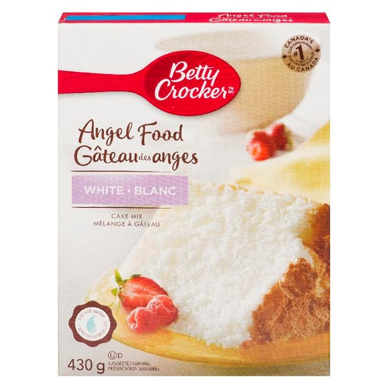 Betty Crocker Cake Mix Angel Food White 430g