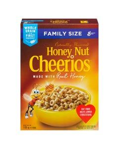 General Mills Honey Nut Cheerios Family Size 725G