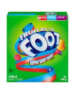 BC Fruit By The Foot Rippin Berry 128G