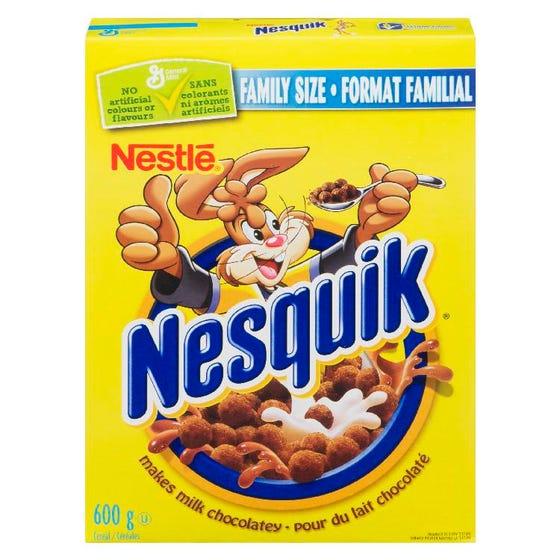 General Mills Nesquik Cereal 600g