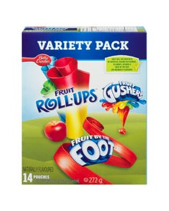 Betty Crocker Fruit Snacks Variety Pack 272g