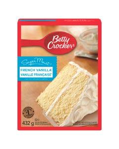 Betty Crocker SuperMoist French Vanilla Cake Mix 432G