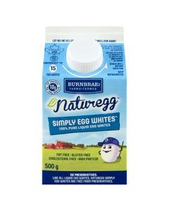 Burnbrae Naturegg Simply Egg Whites 500G