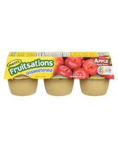 Mott's Fruitsations Unsweetened Apple Sauce 6X110G