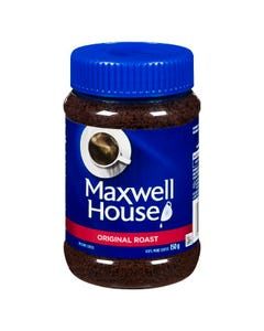 Maxwell House Instant Coffee Original 150g