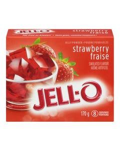 Jell-O Jelly Powder Strawberry 170G