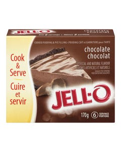Jello Pudding & Pie Filling Chocolate 170g