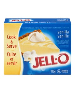 Jello Pudding & Pie Filling Vanilla 135g