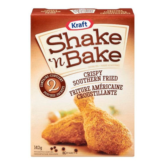 Shake 'n Bake Coating Mix Crispy Southern Fried 142g