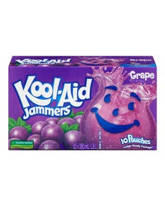 Kool Aid Jammers Raisin 10x180ML