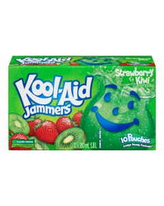 Kool-Aid Jammers Strawberry Kiwi 10x180ml