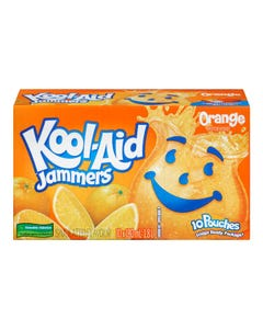 Kool Aid Orange Jammers 10x180ML