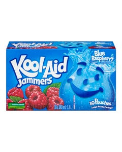 Kool-Aid Jammers Blue Raspberry 10x180ml