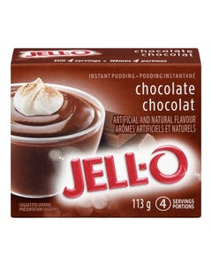 Jell-O Instant Pudding Chocolate 113G