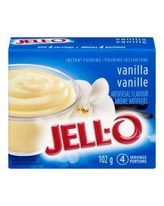 Jell-O Instant Pudding Vanilla 102G