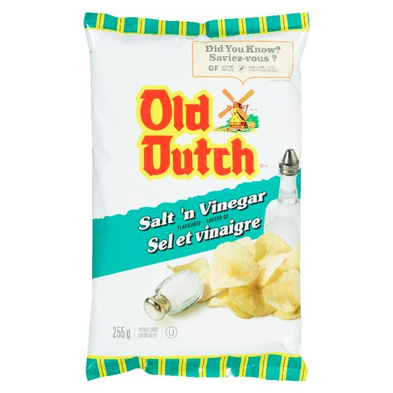 Old Dutch Sel Vinaigre 255G