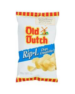 Old Dutch Potato Chips Rip-L 255g
