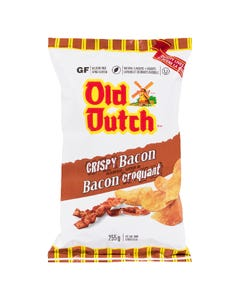 Old Dutch Potato Chips Crispy Bacon 255G