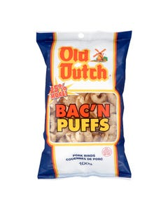 Old Dutch Bac'n Puffs Pork Rinds 100G