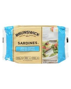 Brunswick Sardines Spring Water 106G