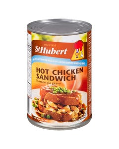 St Hubert Hot Chicken Sandwich Homestyle Gravy 25% Less Salt 398ML
