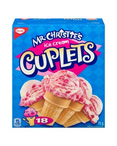 Mr. Christie's Ice Cream Cuplets 75G