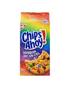 Christie Chips Ahoy Biscuits Arc en Ciel 300G