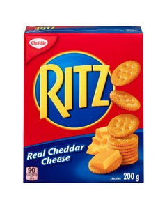 Ritz Real Cheddar Cheese Crackers 200G