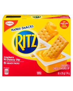 Handisnacks Ritz Crackers 'N Cheezy Dip 6x29g