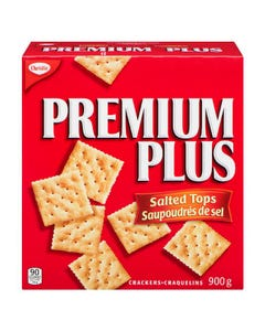 Premium Plus Crackers Salted Tops 900g