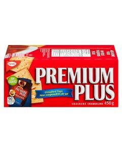 Premium Plus Unsalted Tops Crackers 450G