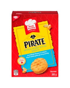 Peek Freans Pirate Oatmeal Peanut Butter Biscuits 300G