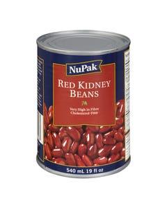 NuPak Red Kidney Beans 540ML