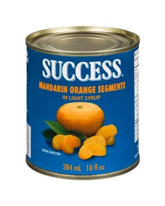 Success Quartiers Complets de Mandarines 284Ml