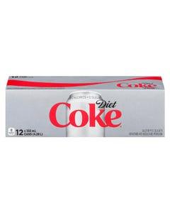 Coca Cola Diet Coke 12x355ml
