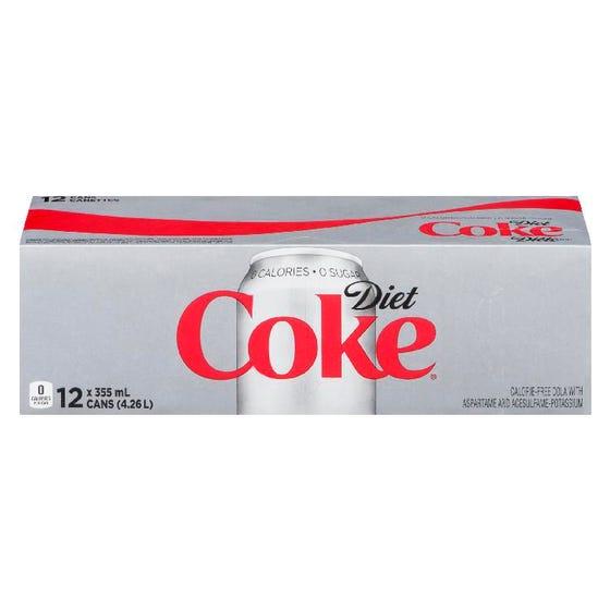 Coke Diete 12x355ML