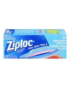 Ziploc Medium Freezer Bags 19ct